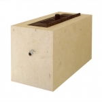 Perspective box - Stone & two iron elements